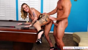 Horny milf Madison drips wet and fucked